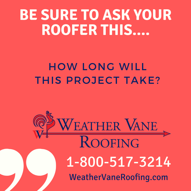 ask your roofer
